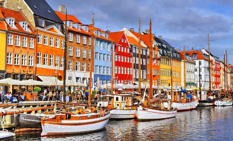 Kopenhagen nyhavn  kopenhagen