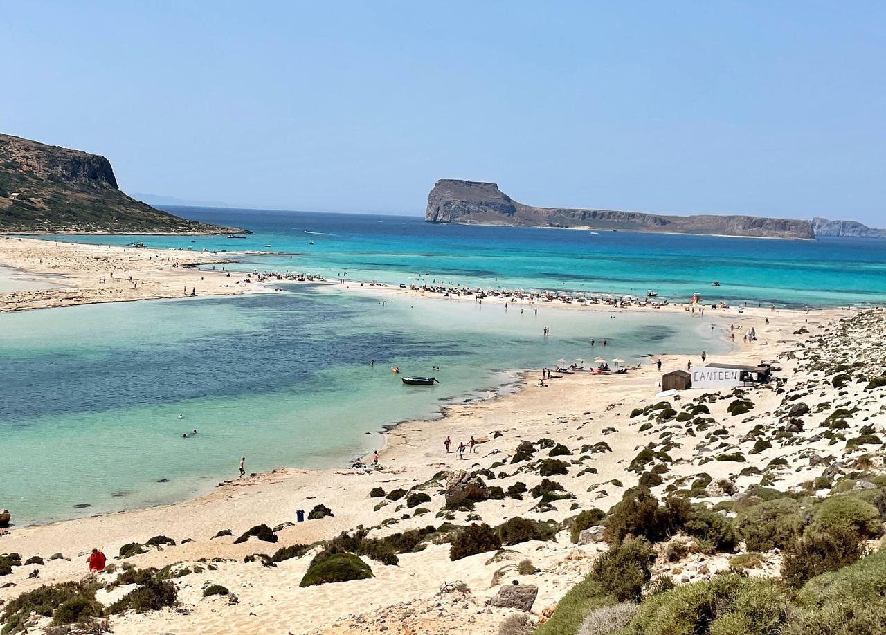 Traumhaft: Der Balos Beach.