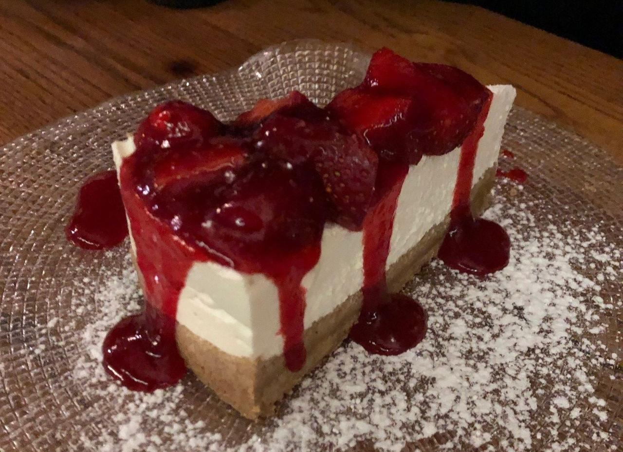Die griechische Variante des Cheesecake gibt es im Restaurant Peskesi.