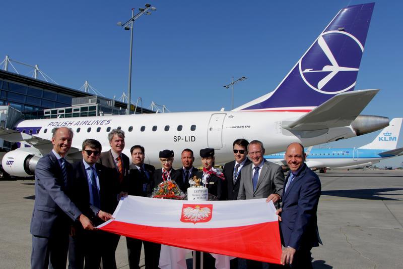 Erstflug Warschau