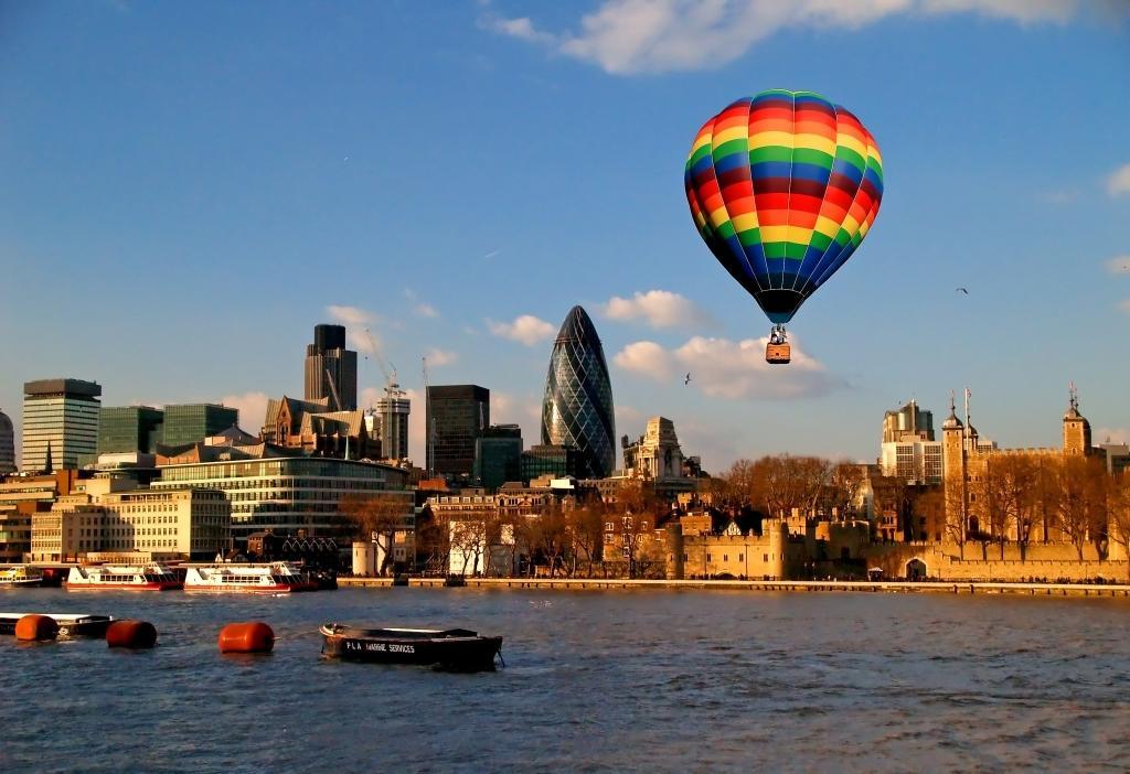 Wasseransicht von London