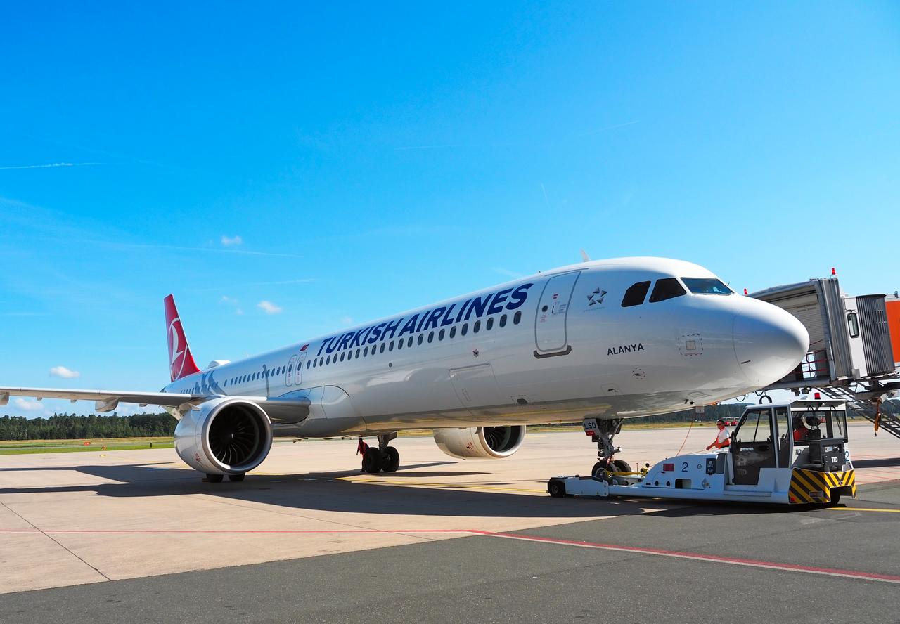 Pushback Turkish Airlines