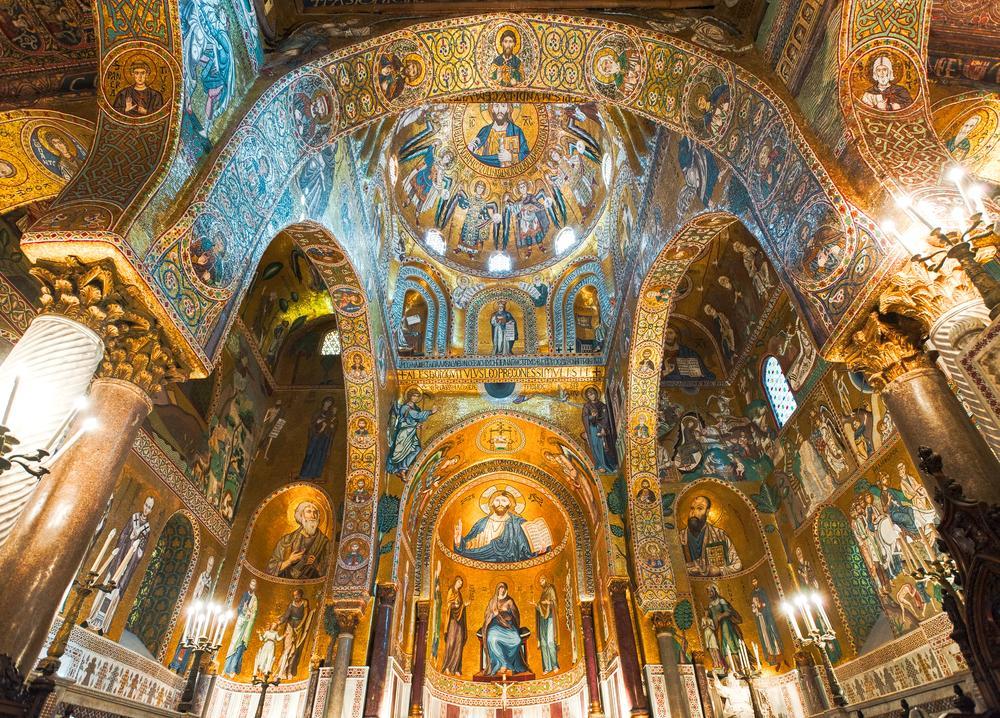Kirchenbau La Martorana in Palermo
