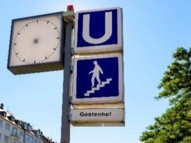 Schnell mit der U-Bahn erreichbar: Gostenhof