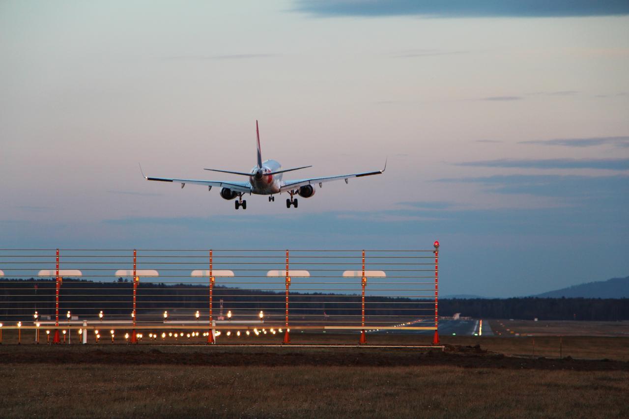 Air France im Landeanflug