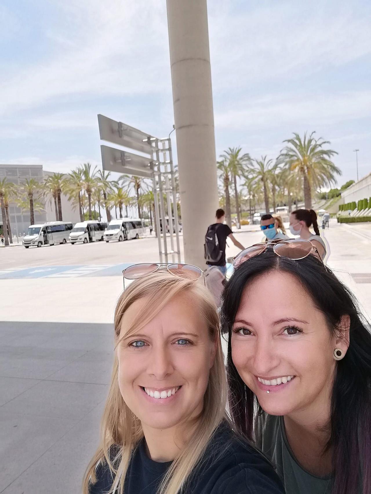 Für Nina und Begleitung ging es nach Mallorca.
