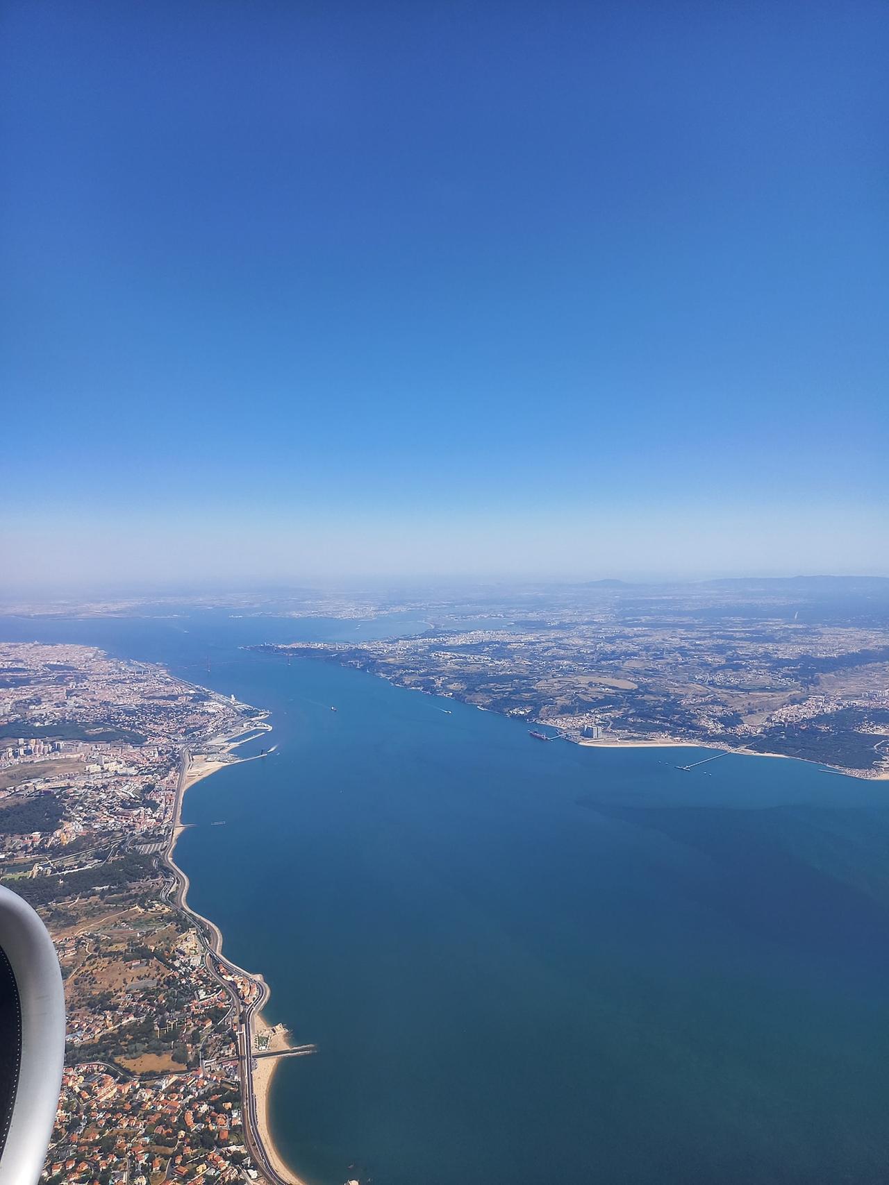 Luises Aussicht auf Portugal.