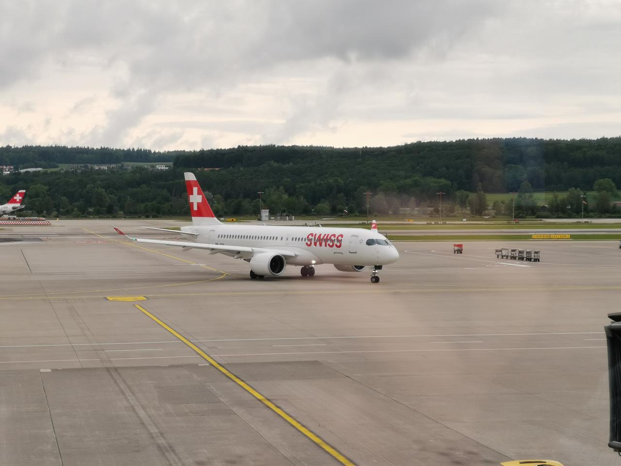 Über das Drehkreuz von SWISS in Zürich erreicht man ab Nürnberg Ziele in aller Welt.