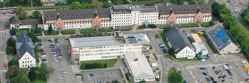Heidelberg U.S. Hospital Luftbild