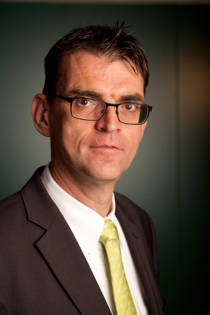 Portrait von Herrn Regeler
