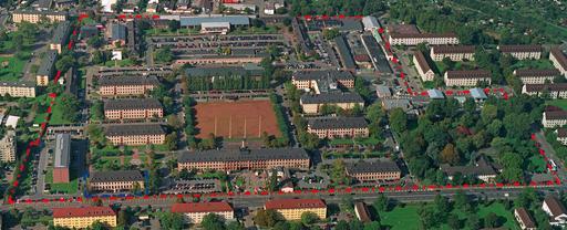 Campbell Barracks Luftbild
