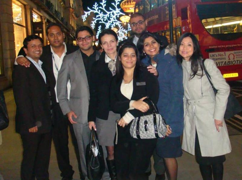 Cranfield MBAs enjoy London life with Prodigy Finance borrower Gulnaz