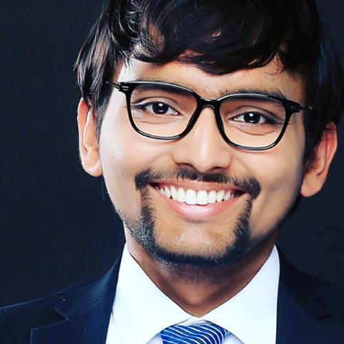 Ritesh Giri 2018 scholarship recipient