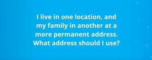 Prodigy Finance:What address should I use?