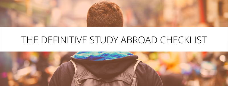 The Definitive Study Abroad Checklist