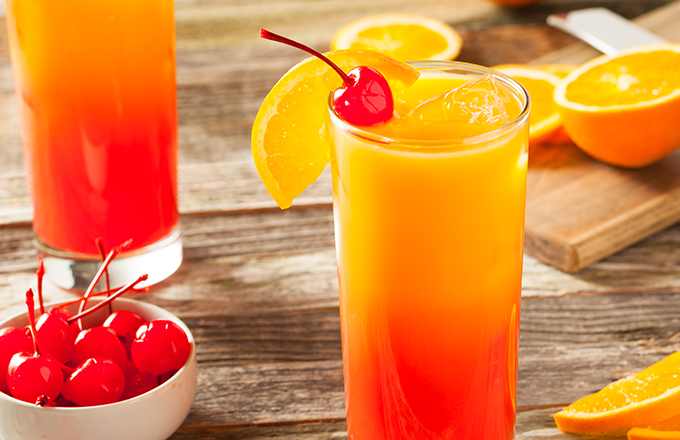 Tequila sunrise cocktail  Tequila Sunrise Recipe | Drizly
