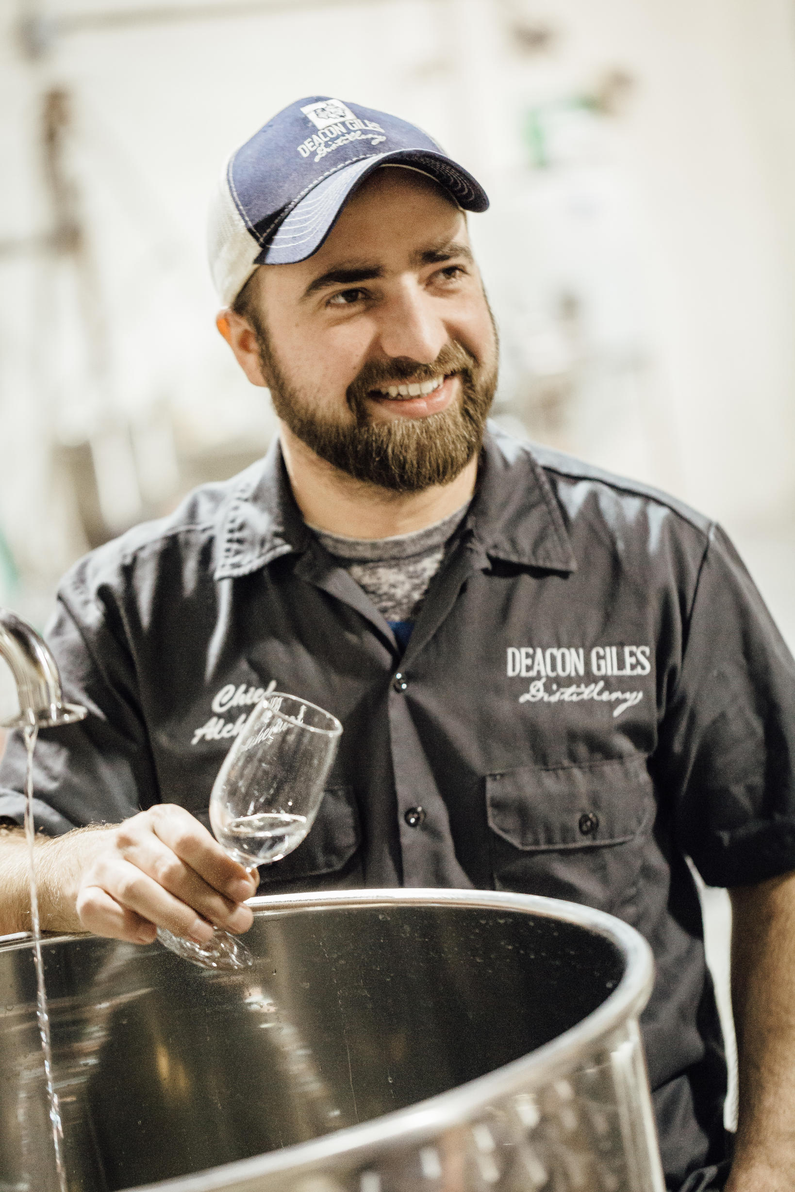 Jesse BrennemanCo-Founder and Chief AlchemistDeacon Giles Distillery, Salem MA