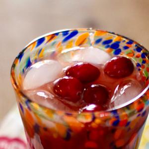 Cranberry Mezcal-Rita