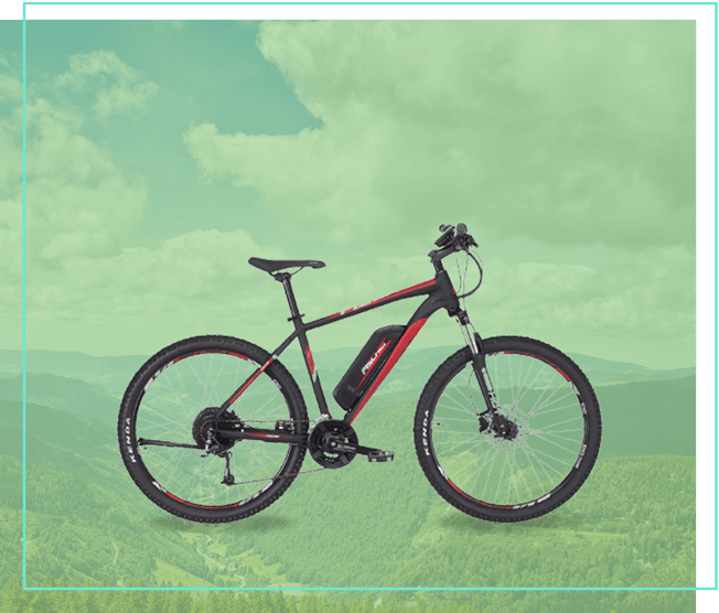 Fischer E-Bike Mountainbike