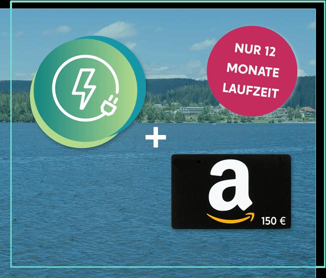 enverde Relax Strom + 150 Euro Amazon-Gutschein