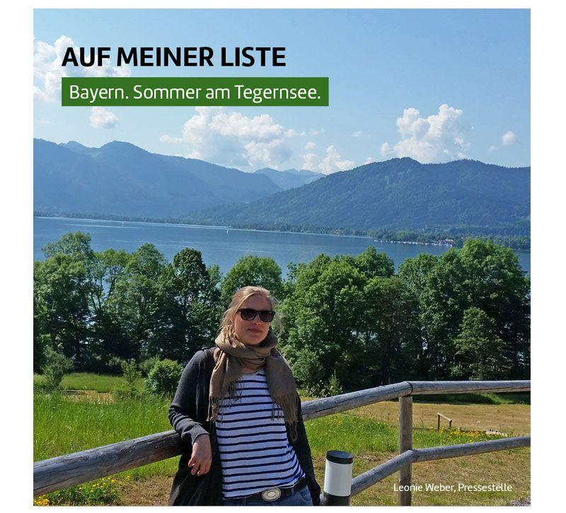 Tegernsee Leonie Weber berge und meer