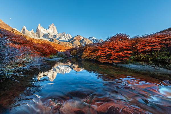 Trendziele Chile Patagonien berge und meer
