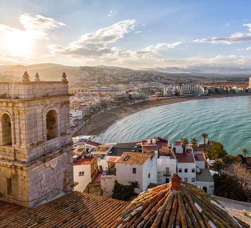 spanien valencia allgemein berge und meer