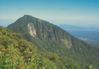nicaragua naturreservat vulkan mombacho berge und meer