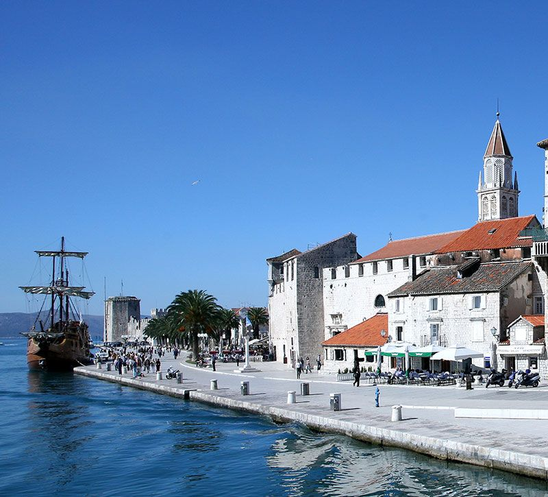 kroatien bm trogir reisewelt berge und meer