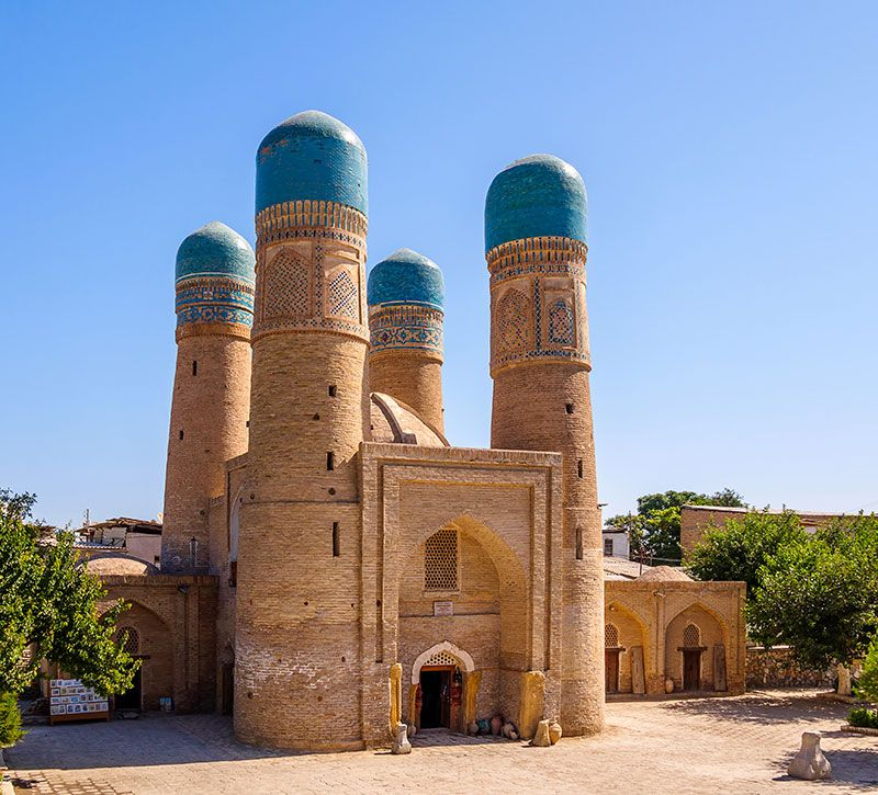 usbekistan chor minor berge und meer