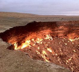 visa info Turkmenistan berge und meer