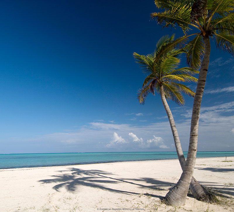 dominikanische republik beach berge und meer