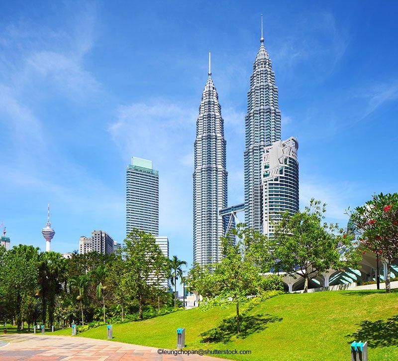malaysia kuala lumpur city berge und meer