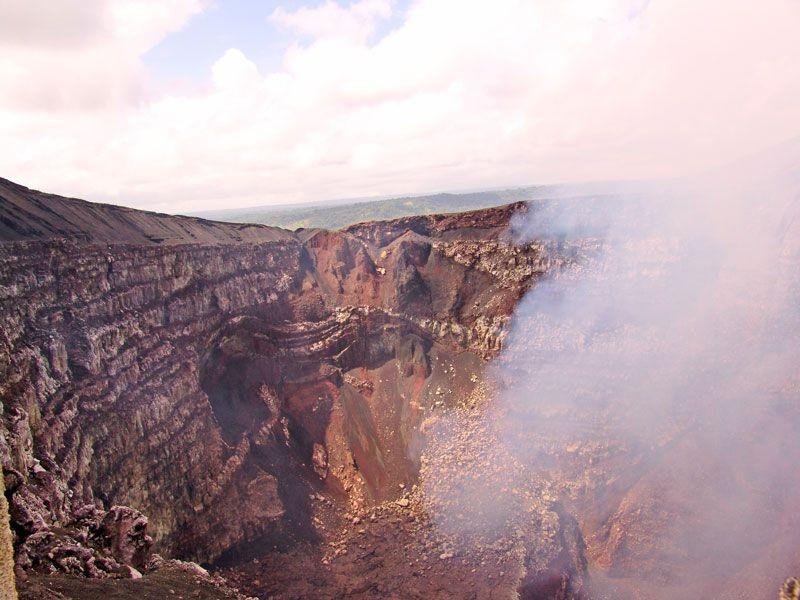 nicaragua masaya berge und meer