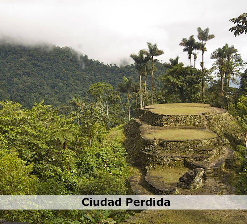 kolumbien kolumbien verlorene stadt berge und meer