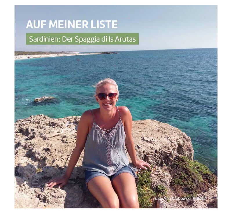 Sardinien S A Grabowski berge und meer
