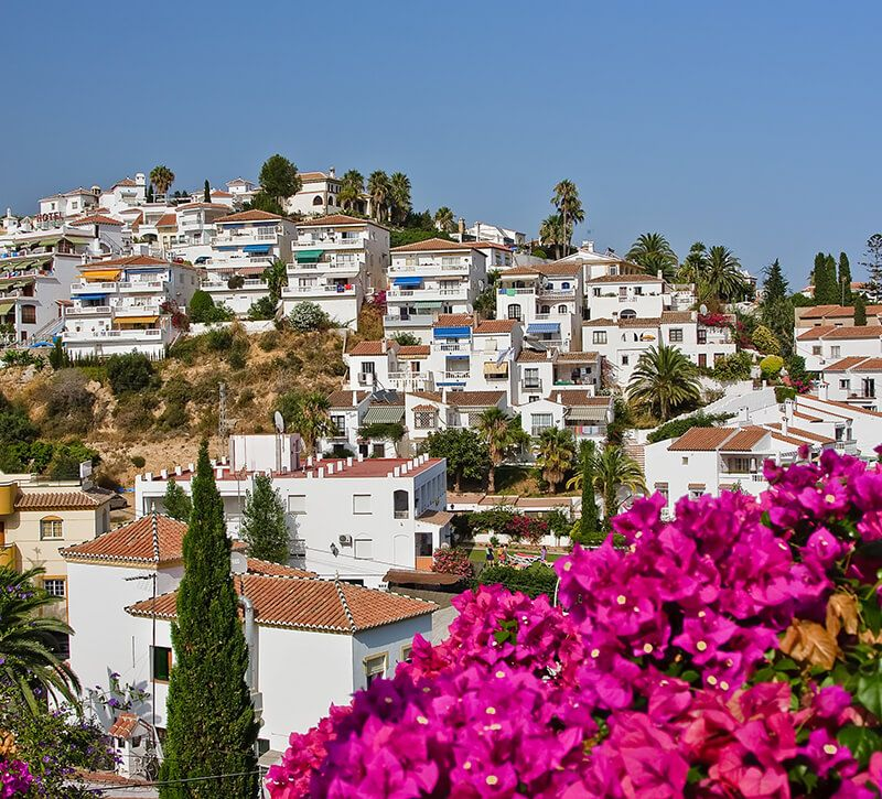 spanien nerja allgemein berge und meer