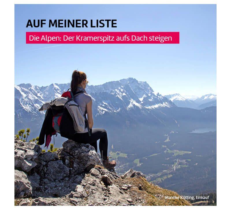 Alpen berge und meer