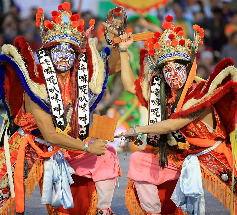 taiwan kultur berge und meer