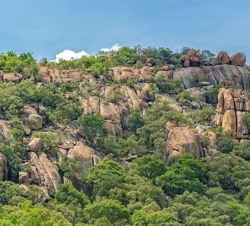 botswana gaborone berge und meer