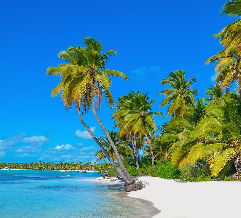 dominikanische republik domrep berge und meer