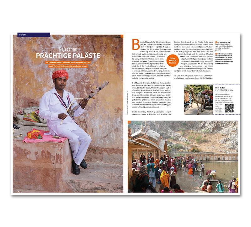 Reisemagazin berge und meer