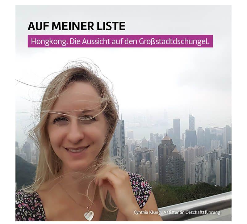 Hongkong Cynthia Klung berge und meer