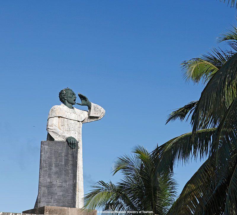 dominikanische republik santo domingo berge und meer