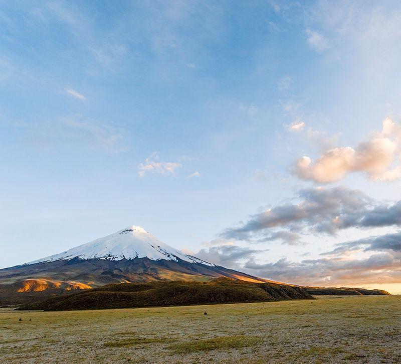 ecuador cotopaxi berge und meer