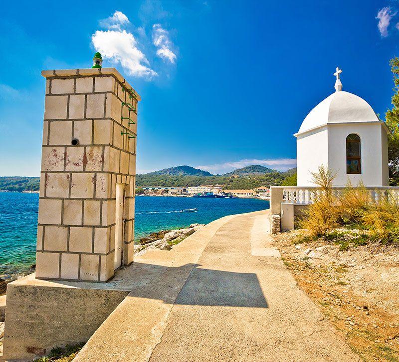 kroatien dugi otok island brchx berge und meer