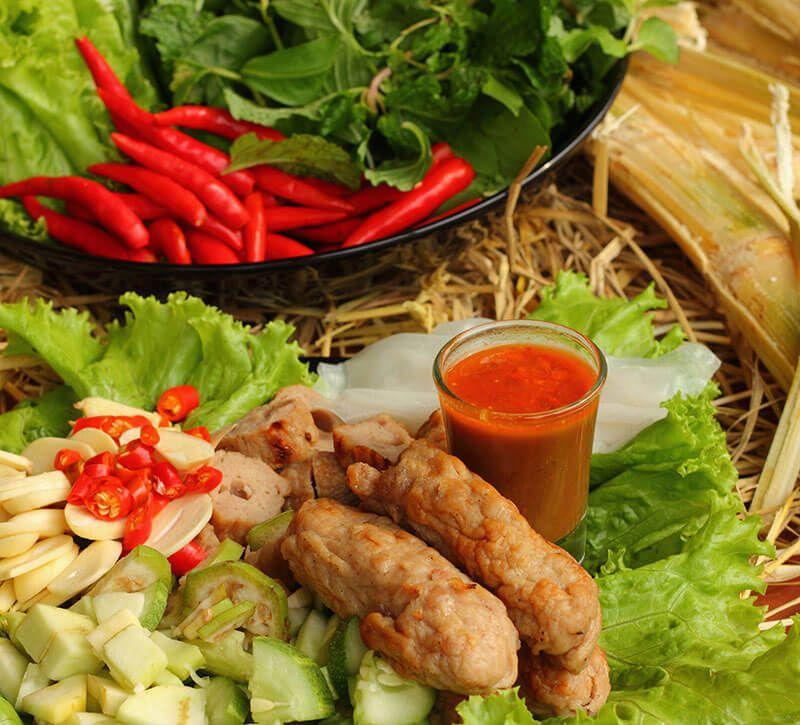 vietnam essen berge und meer