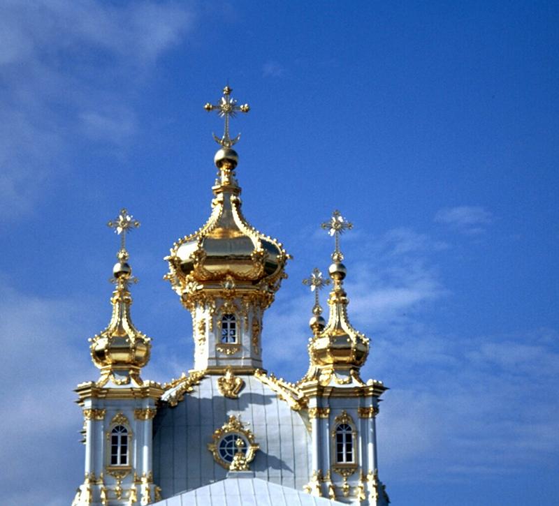 Russland Religion Kirche  berge und meer