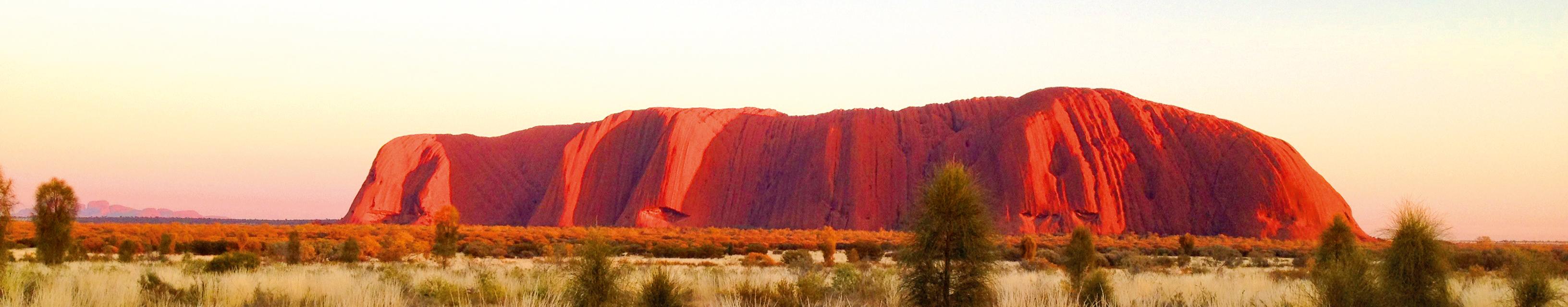 visa info australien ayers rock berge und meer