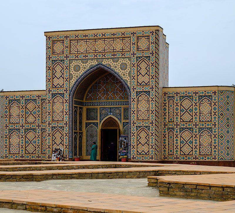 usbekistan sternwarte ulugbek berge und meer
